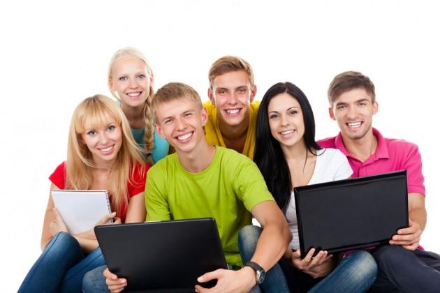 фотографии студентов: