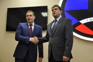 Олег Новоселов и Александр Набоков