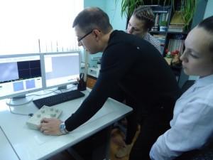 Школьники в ТюмГНГУ
