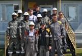 студенты ТИУ на Кальчинском месторождении