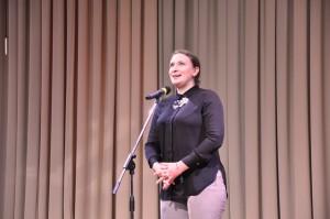 Приветственная речь от Олеси Брагман