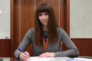 Елена Григорьян, специалист отдела развития научных инициатив ТИУ