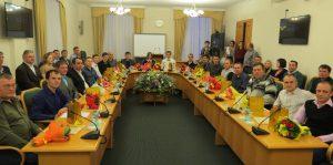 Учатсники номинации Лучший токарь-универсал в Зале правительства Тюменской области
