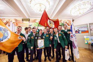 Лучший отряд Тюменской области по итогам 2016 года ССО Универсал