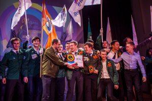 Победитель областного фестиваля творчества студенческих отрядов ССО Универсал