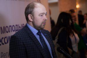 директор Колледжа информатики и связи Дмитрий Паутов