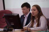 Оксана Яковлева и Евгений  Черепенин