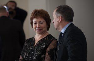 Заместитель губернатора Тюменской области Л.З. Теплоухова
