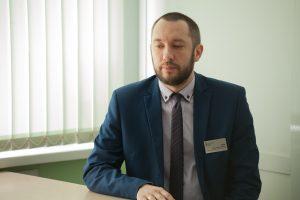 заместитель руководителя приемной комиссии Константин Шлык