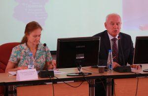 Оксана Речкина и Владимир Попов