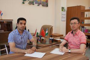Мохаммед Аль-Дхахер и Талгат Дисенбаев