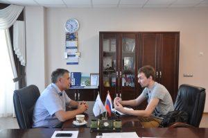 Руководитель Арктического проекта ТИУ Алексей Пимнев дал интервью в эфире «Радио России»