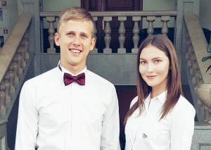 Победители конкурса Эльвира Гашиятуллина и Илья Курбатов