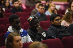 Иностранные студенты ТИУ