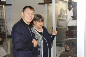 Руслан Проводников в Музее Истории науки и техники Зауралья
