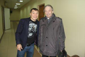 Руслан Проводников с Виктором Ефимовичем Копыловым