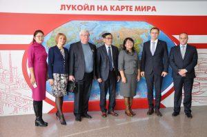 Опорный вуз страны посетила делегация из Монголии