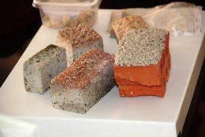 Строительные материалы на основе диатомита