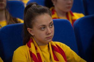 Ангелина Коробейникова, ученица школы №45