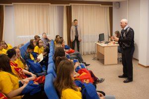 Встреча с заведующим кафедрой БИМ Олегом Барбаковым