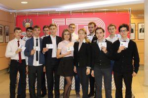 Общее фото награжденных КИиС с руководителем физического воспитания колледжа Ириной Хребтовой