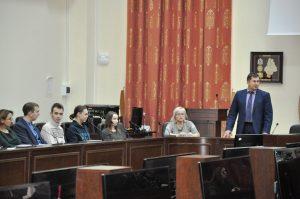 Поздравление Председателя ОППО ТИУ Владимира Савчугова