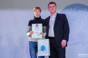 Вячеслав Воронцов наградил лицеиста ТИУ Федора Чагина