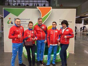 Участники сборной Тюменской области