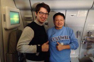 с господином Жоу Ксианбао