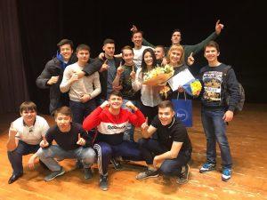 Куратор года  - Кальва Инна Сергеевна и группа НДб-17-2 (ИГиН)