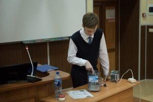 Защита Ильи Островских на секции «ИнТраУМЕЛЕЦ»