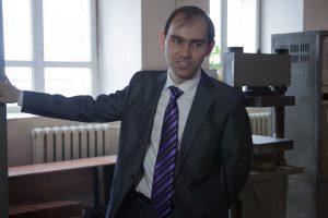 Виктор Орлов, заведующий лабораторией кафедры строительных материалов