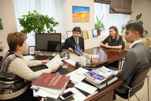 Встреча молодежи ТИУ с главой вуза