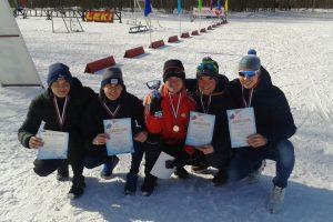 Лыжники МПК завоевали золото и бронзу городской Спартакиады