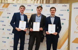 Слева направо: Александр Паронко, Михаил Самохвалов, Андрей Гейдт