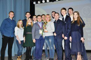 Сергей Поляков – «Лучший профорг ТИУ-2018»