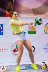 Анна К иреева на соревнованиях