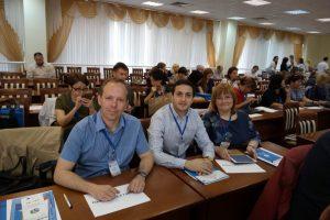 А.Гордиевский_Э.Налбандян и С.Ситева на конференции