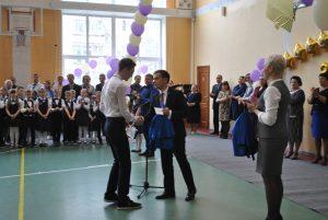 Опорный вуз поздравил юных тюменцев с окончанием школы