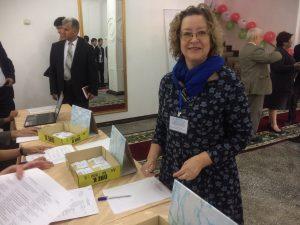 Светлана Максимова перед конференцией