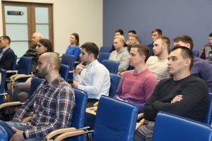 Студенты тюменских вузов стали слушателями открытой лекции, посвященной особенностям разработки трудноизвлекаемых запасов Арктики
