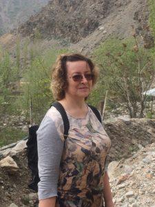 Светлана Максимова на выезде в село Гушары