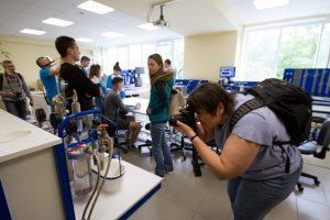 в учебной лаборатории процессов и аппаратов нефтегазопереработки