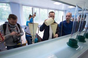 научно-учебной лаборатории «Исследование свойств буровых растворов и технологических жидкостей»