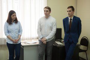 Слева направо: Анастасия Ермакова, Олег Колосов, Евгений Мазуров