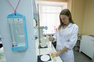 В лаборатории кафедры ВиВ