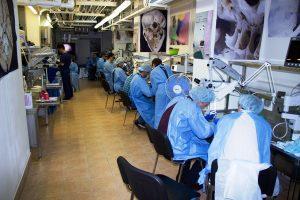 Студенты на практике. Федеральный центр нейрохирургии