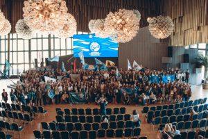 Открытие Целины-2018 Всероссийского сервисного отряда в Ялте