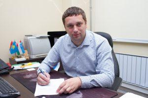 руководитель приёмной комиссии ТИУ Василий Шитый