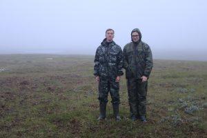 Даниил Бачинин, Павел Щипанов, экспедиция на полуостров Ямал (август 2018 года)